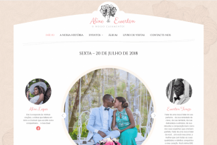 Aline & Ewerton (Weeding Website)